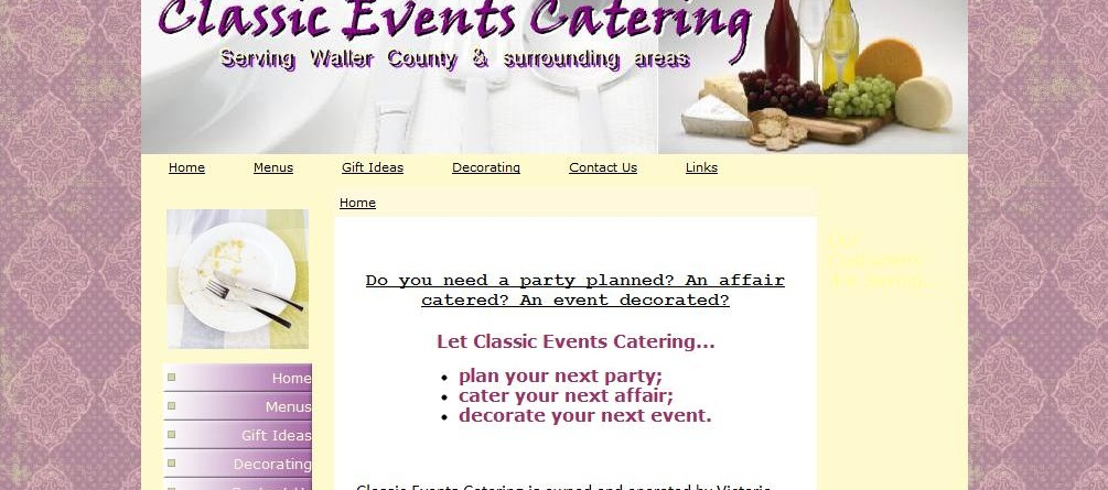 Classic Events Catering